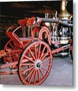Old Fire Truck Metal Print