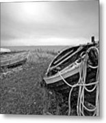 Old Fishing Boat Metal Print