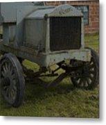 Old Flat Bed Truck Metal Print