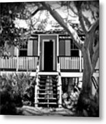 Old Florida Cottage Metal Print
