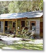Old Florida Home Metal Print