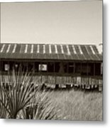 Old Florida Sepia Metal Print