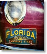 Old Florida Metal Print