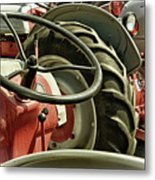 Old Ford Tractors Metal Print