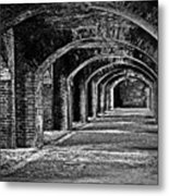 Old Fort Metal Print