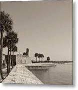 Old Fort, St. Augustine, Florida Metal Print