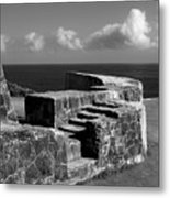 Old Fort Steps 2 Metal Print