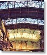 Old Foundry Metal Print