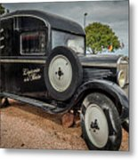 Old French Truck Metal Print