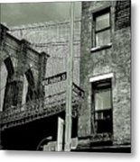 Old Fulton And Water Streets 2 Metal Print