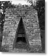 Old Furnace Metal Print