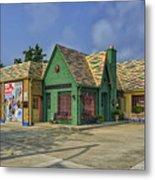 Old Gas Station Route 66 Cuba Mo Dsc05559 Metal Print