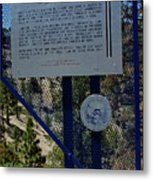 Old Geiger Grade Nevada Metal Print