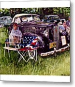Old Glories Metal Print