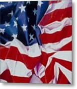 Old Glory  1 Metal Print