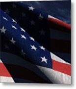 Old Glory 2 Metal Print