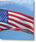 Old Glory Never Fades Metal Print