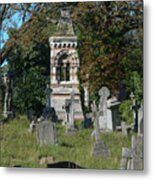 Old Graves Metal Print