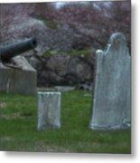 Old Graves Metal Print