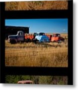 Old Guys 3 Metal Print