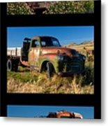 Old Guys Trio 4 Metal Print by Idaho Scenic Images Linda Lantzy