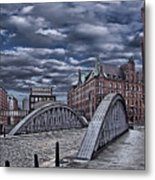 Old Hamburg Metal Print