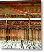Old Hammer And Keys Metal Print