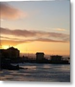Old Harbour Of Kemi Metal Print