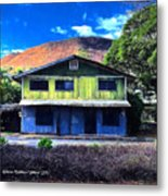Old Hawaii Store - Signed Metal Print