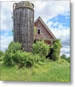 Old Historic Barn In Vermont Metal Print