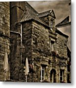 Old House - Rochefort-en-terre - La Bretagne Metal Print