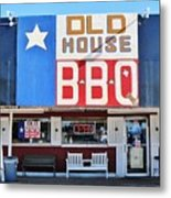 Old House Bbq Metal Print