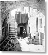 Old House Court Metal Print