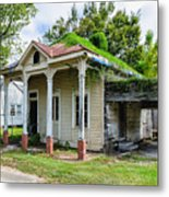 Old House Donaldsonville La-historic Metal Print