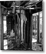 Old House Interior Construction Metal Print