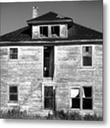 Old House On Stagecoach Road Metal Print