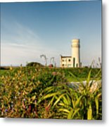 Old Hunstanton Lighthouse North Norfolk Uk Metal Print