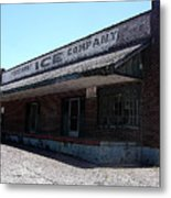 Old Ice House In Malvern Metal Print