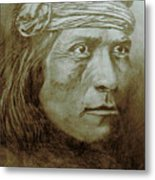 Old Indian Reference Metal Print