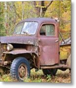 Old Jalopy Metal Print