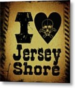 Old Jersey Shore Metal Print