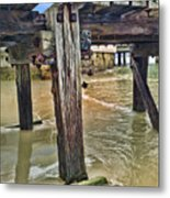 Old Jetty Metal Print