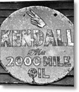 Old Kendal Sign Metal Print