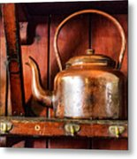Old Kettle Metal Print