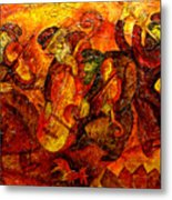 Old Klezmer Band Metal Print