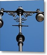 Old Lamppost Metal Print