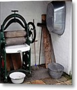 Old Laundry Metal Print