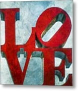 Old Love Metal Print