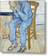 Old Man In Sorrow Metal Print