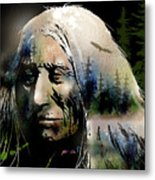 Old Man Of The Woods Metal Print